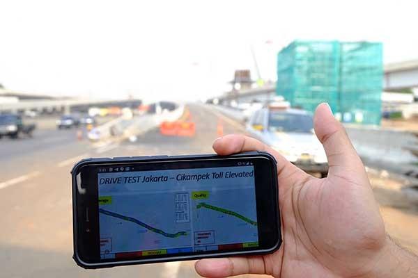 Layanan broadband Telkomsel selimuti jalur Tol Jakarta-Cikampek II Elevated
