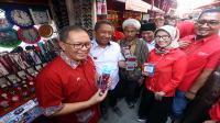 Telkomsel rampungkan penataan PKL Cicadas