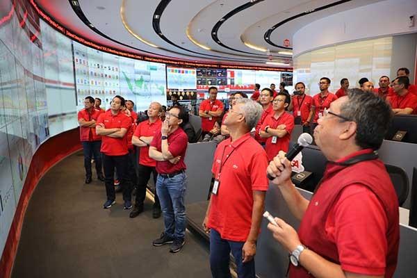 Telkom sukses kawal trafik pergantian tahun