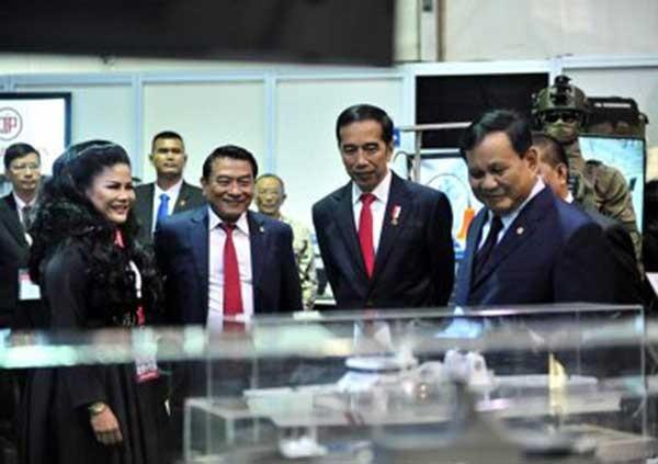 Jokowi minta Prabowo kuasai teknologi pertahanan mutakhir
