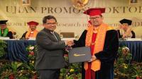 CFBPO Telin raih gelar doktor dengan pecahkan rekor publikasi jurnal internasional