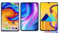 Compare :Realme X2 Pro VS Redmi Note 8 Pro Vs Samsung M30S