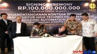Pollux Habibie tandatangani kontrak dengan FCORP bangun jaringan FO