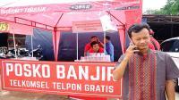 Pasca banjir, layanan Telkomsel berangsur pulih