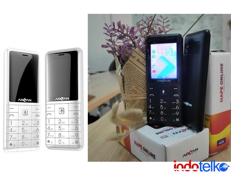 Advan tawarkan feature phone berbasis 4G