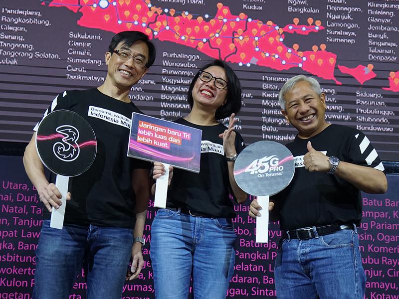 Tri Indonesia janjikan speed data 8 kali lebih cepat