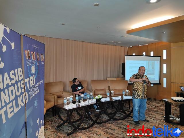 Ketua UMUM Federasi Teknologi Informasi Indonesia Andi Budimansyah