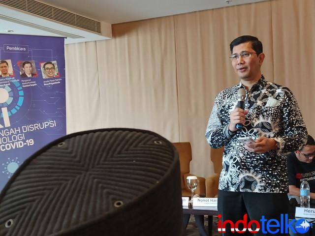 Direktur Eksekutif Indonesia ICT Institute Heru Sutadi
