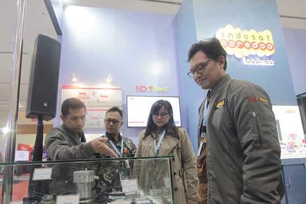 IoT Fleet Management milik Indosat unjuk kekuatan di GIICOMVEC 2020
