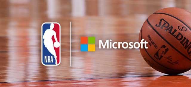 Microsoft menjadi mitra teknologi NBA
