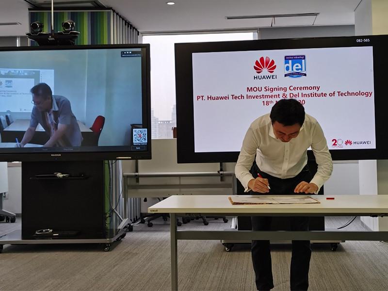 Huawei dukung Institut Teknologi Del Sumut terapkan solusi TIK