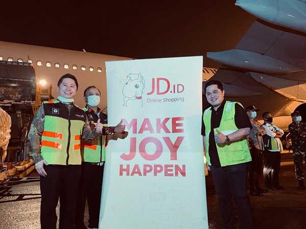 JD.id serahkan alkes ke Yayasan BUMN Hadir untuk Negeri