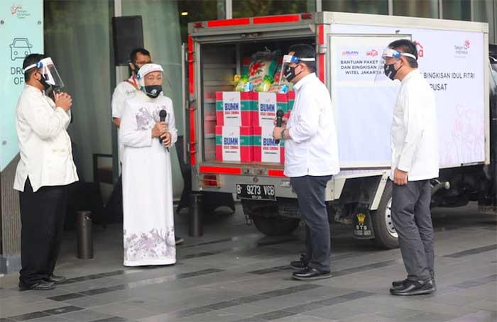 TelkomGroup donasikan Rp40,7 miliar untuk bantu masyarakat terdampak Covid-19