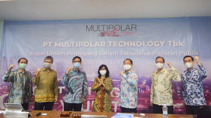 Multipolar Technology sebar dividen Rp249,38 miliar