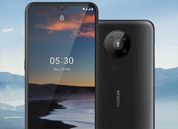 Nokia 5.3 andalkan quad camera