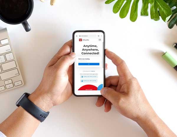 UMeetMe jamin kuota data tidak jebol untuk meeting online