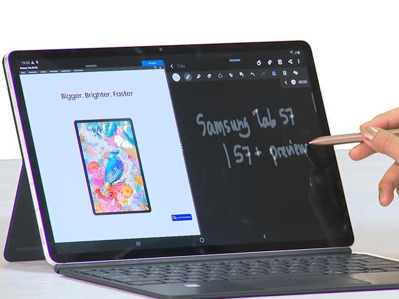 Samsung resmi rilis Galaxy Tab S7 dan S7+
