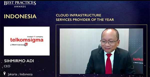 Frost & Sullivan berikan Cloud Infrastructure Service Provider of The Year ke Telkomsigma