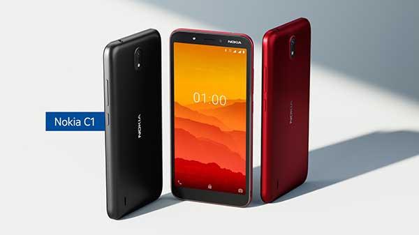 Nokia C1 siap dukung aktivitas online