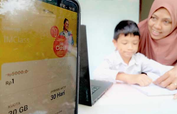 Strategi Indosat siapkan jaringan hadapi PJJ