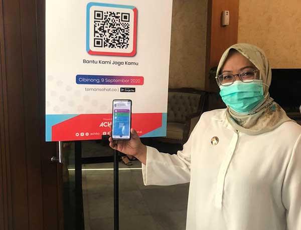 Teman Sehat, aplikasi andalan Pemkab Bogor untuk jaga kesehatan