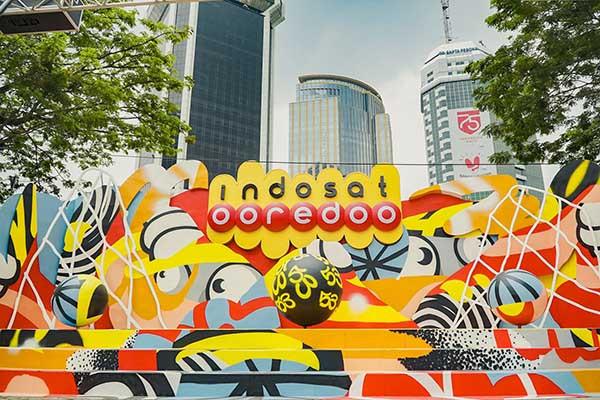 "HUT ke-53, Indosat Ooredoo ""Rising Up Indonesia"""