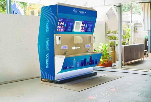 City Vision tawarkan portable Handwash Station