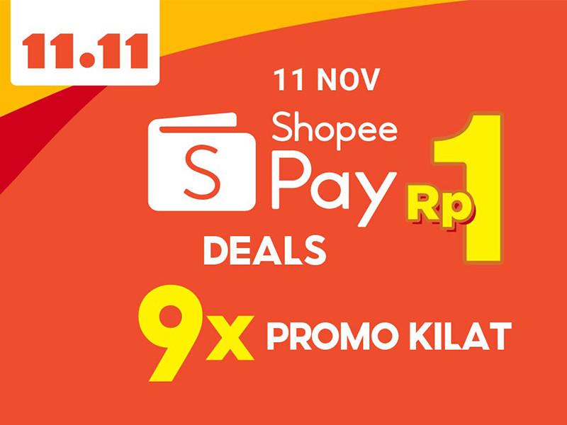 Besok Shopeepay gelar promo 9 kali promo kilat