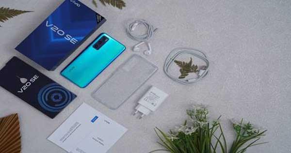 vivo V20 SE Aquamarine Green sudah dijual di pasar