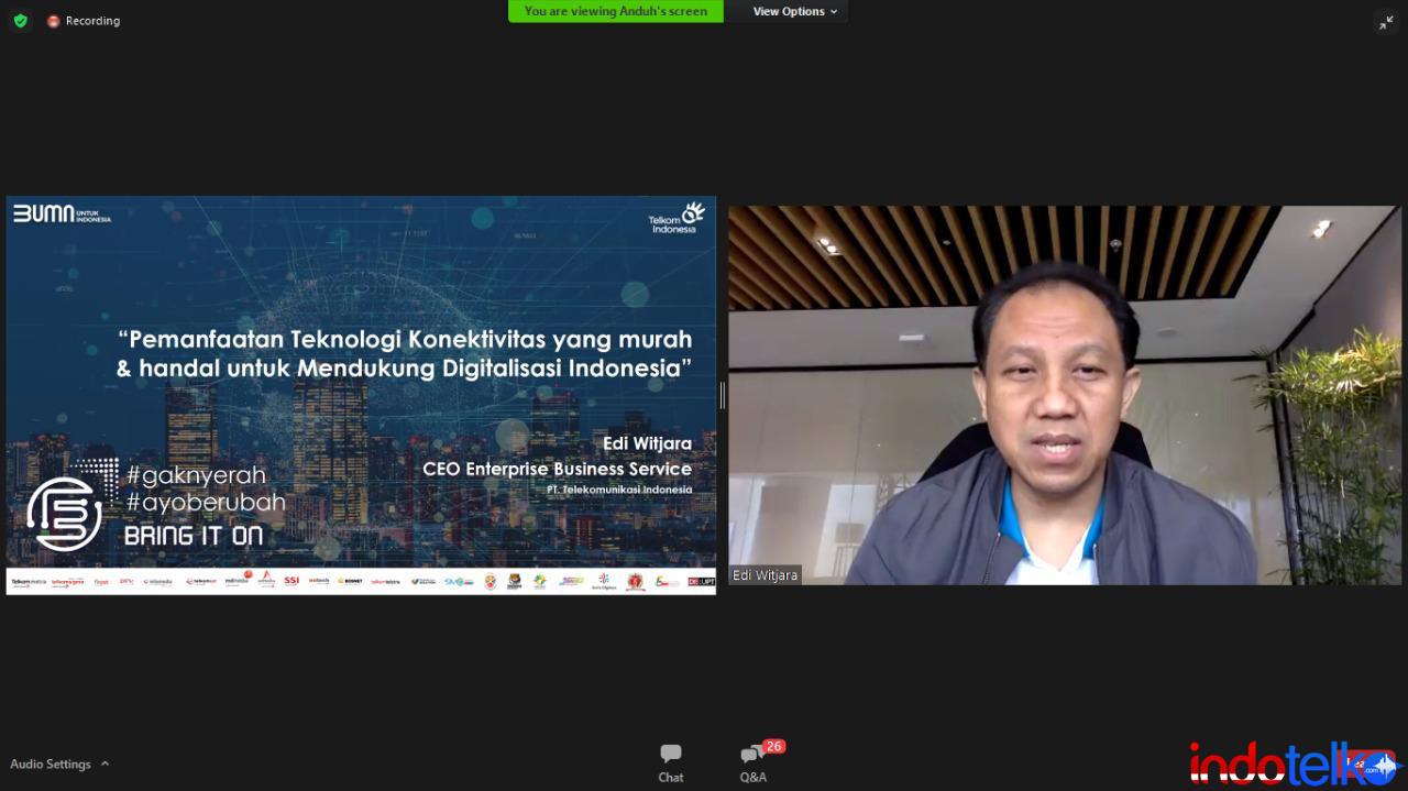 Telkom manfaatkan IoT untuk dukung digitalisasi