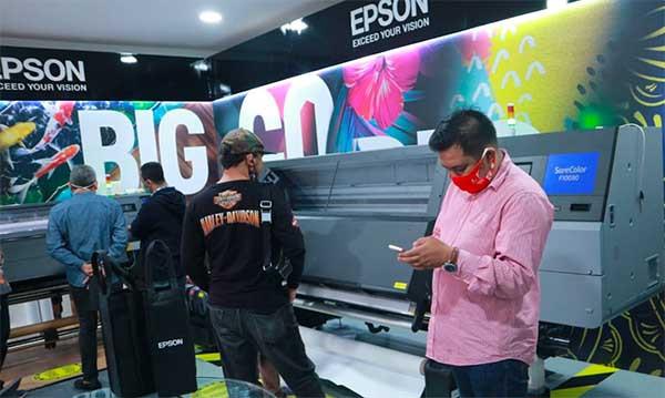 Epson siapkan printer tekstile untuk UMKM