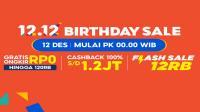 Ada 12 promo dari Shopee di 12.12<div><br /></div>