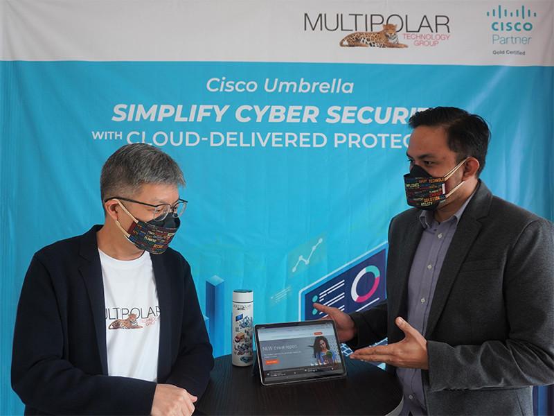 Dengan Cisco Umbrella Multipolar perkuat keamanan jaringan