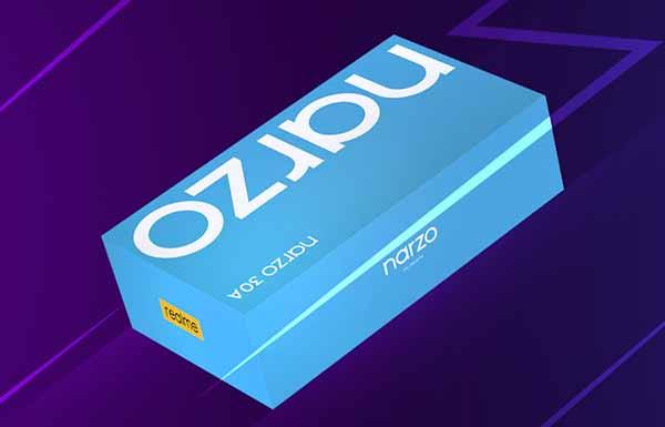 Ini kotak penjualan terbaru realme narzo 30A