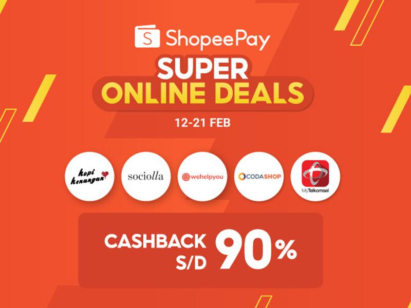 Sambut Imlek, Shopeepay hadirkan Super Online Deals
