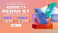 Redmi 9T, eksklusif di JD.ID
