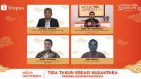 Shopee dukung UMKM berpeluang ekspor di HUT Kreasi Nusantara