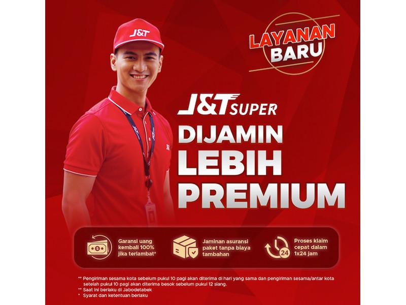J&T Express jamin kiriman premium lewat J&T Super