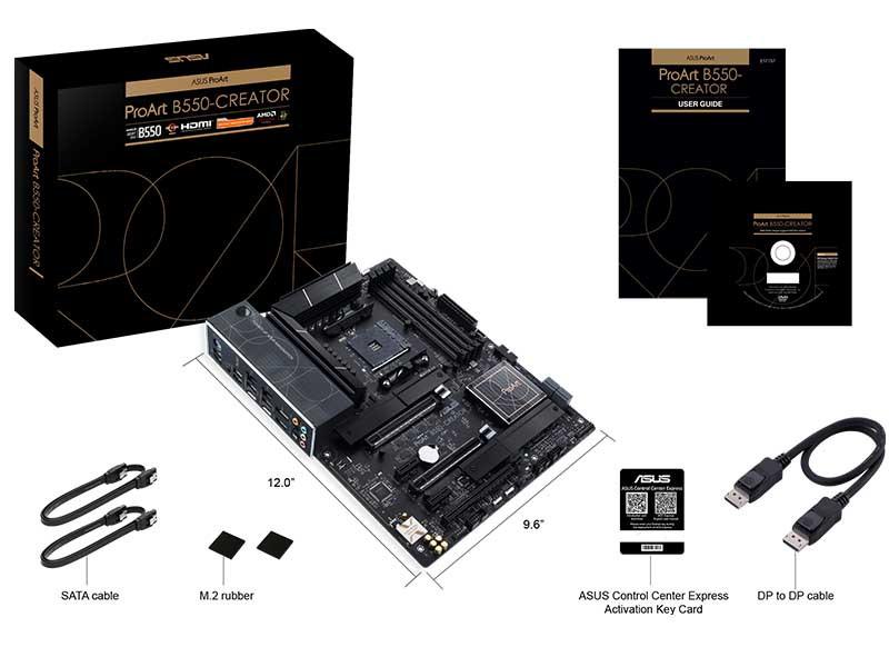Andalkan konektivitas nan Tangguh, Asus umumkan Motherboard ProArt B550-Creator