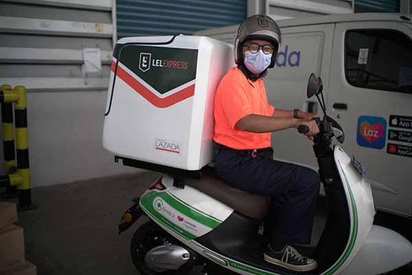GrabWheels perkuat layanan logistik Lazada