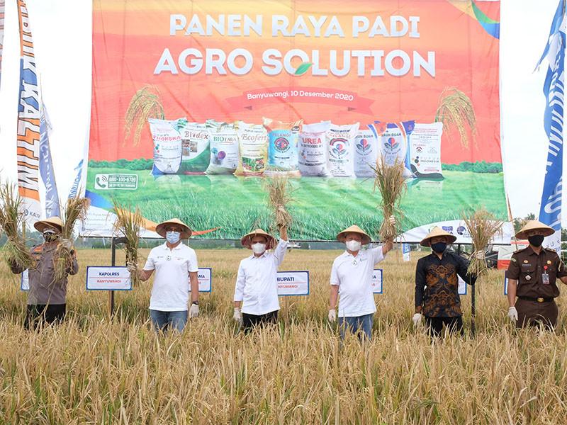 Pupuk Kaltim gulirkan program Agro-Solution