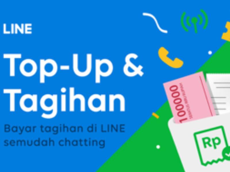 Kini Line berikan layanan Top-up dan tagihan