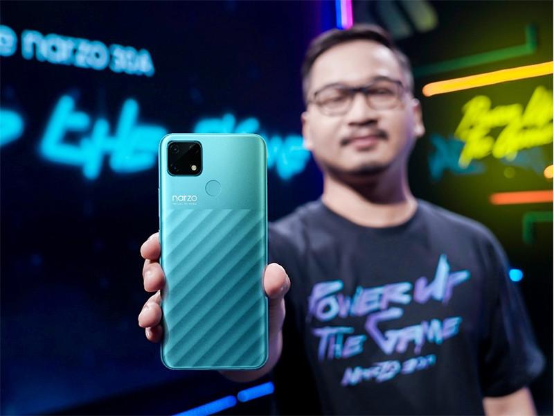 Realme tawarkan Narzo 30A, bertenaga MediaTek Helio G85