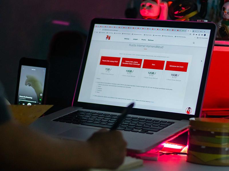 Telkomsel lanjutkan pemberian kuota internet tahap kedua