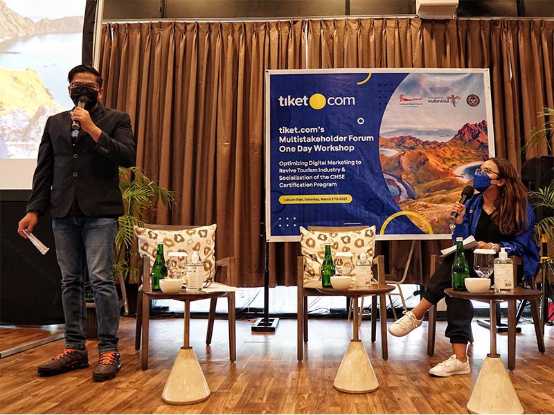 Tiket.com dan Kemenparekraf gelar One Day Workshop dukung pemulihan pariwisata