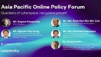 Kaspersky jalin kerjasama untuk pertahanan siber