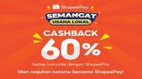 ShopeePay berikan cashback 60% berdayakan UMKM