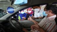 Wah, XL gelar sentra vaksinasi drive thru pertama di Depok