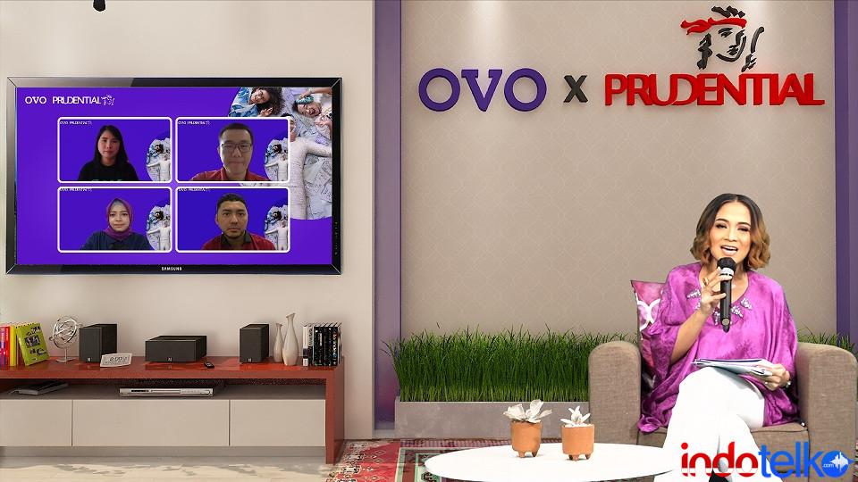 OVO dan Prudential Indonesia Hadirkan 'PRUTect Care - Hospital Cash'
