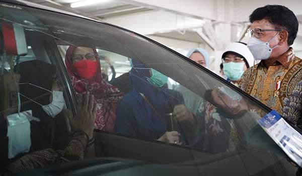 Sentra Vaksin Indonesia Bangkit sudah suntik vaksin ke 5.700 warga